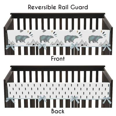Bear Mountain Crib Rail Guard Cover