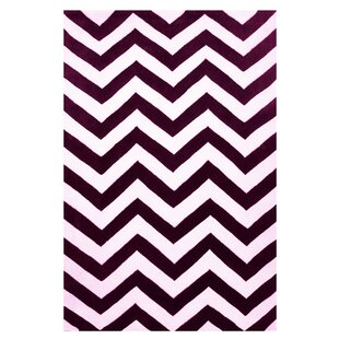 Online Reviews Capri Purple/White Area Rug By L.A. Rugs