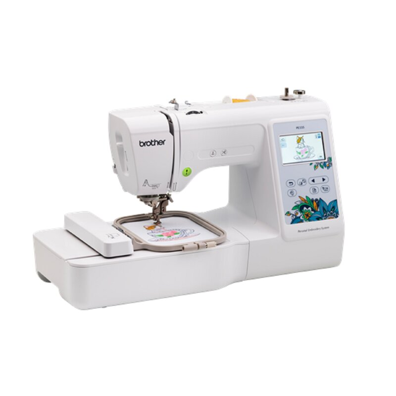 Brother Sewing Embroidery Electronic Sewing Machine Reviews Wayfair Interesting Embroidering Sewing Machine
