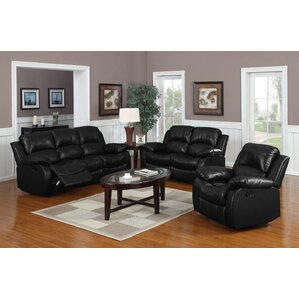 Bryce 3 Piece Living Room Set  sc 1 st  Wayfair & Reclining Living Room Sets Youu0027ll Love islam-shia.org