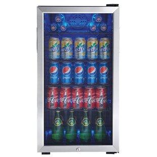 Glass door countertop refrigerator wayfair 33 cu ft beverage center planetlyrics Choice Image