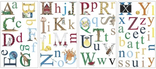 Studio Designs 73 Piece Alphabet Wall Decal Part 45