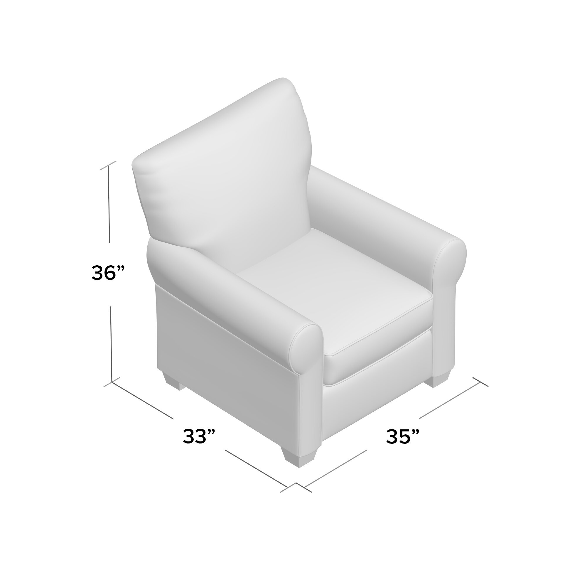 Overnight Sofa Accent Armchair | Wayfair