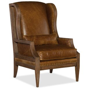 Etonnant Laurel Exposed Wood Wingback Chair