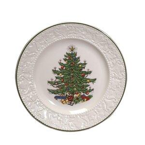 Original Christmas Tree Dickens Embossed 8.25