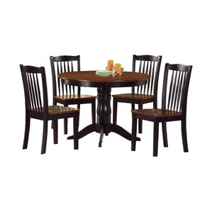 Therrien 5 Piece Dining Set by August Grove