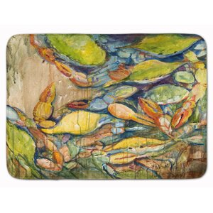 Jubilee Blue Crab Memory Foam Bath Rug