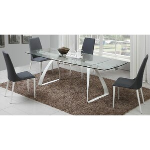 Klaus 5 Piece Dining Set by Orren Ellis