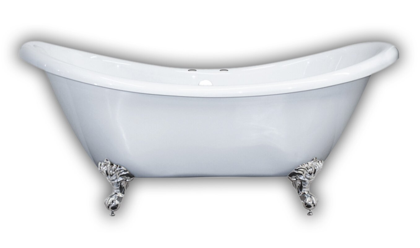 clawfoot baby bath tub. 69  x 29 Clawfoot Bathtub Cambridge Plumbing Reviews Wayfair