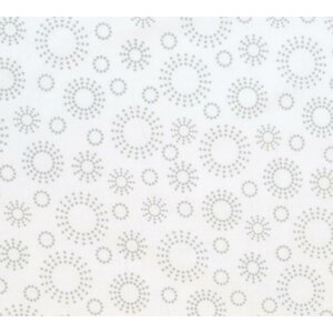 Dot Circles Portable Mini Fitted Crib Sheet