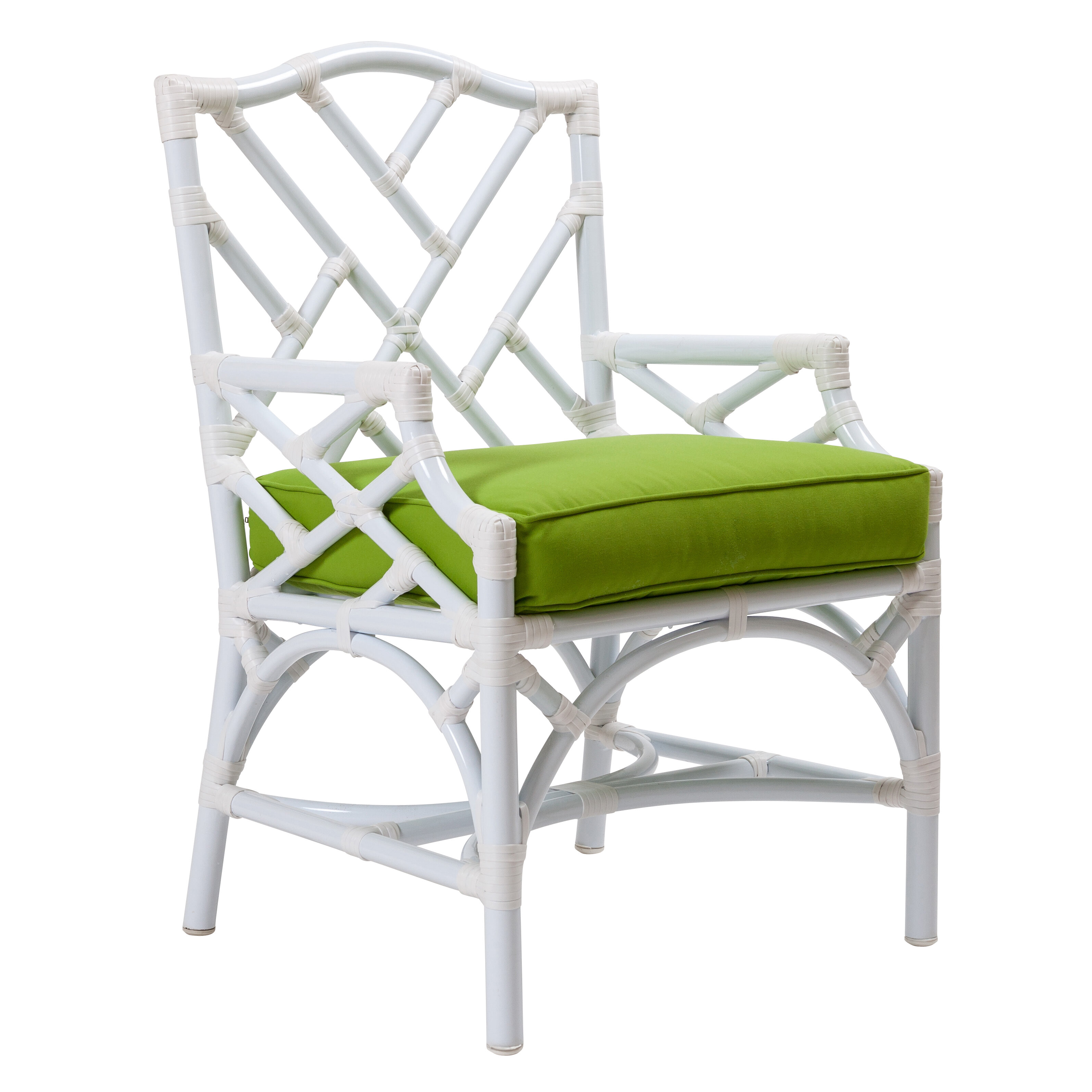 David Francis Furniture Chippendale Patio Dining Chair With Cushion Wayfair