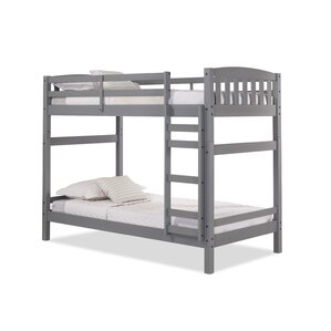 Jayne Twin Bunk Bed by Simmons Casegoods by Harriet Bee
