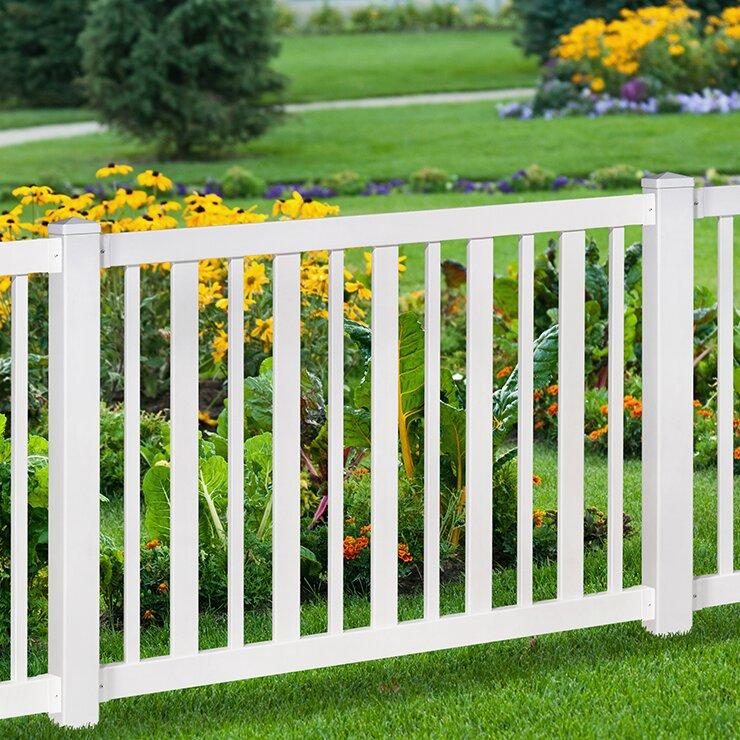 Pool Fence wam bam no-dig fence sturbridge vinyl yard and pool fence with