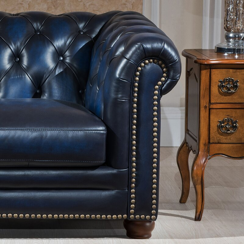 Amax Nebraska 2 Piece Leather Living Room Set Reviews