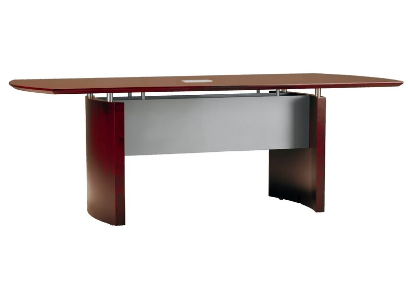 Napoli Curved End Conference Table Reviews AllModern - Curved conference table