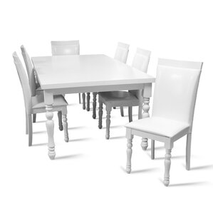 Daisi 7 Piece Dining Set by Darby Home Co