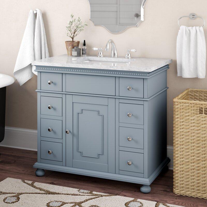 """Casie 36"""" Single Bathroom Vanity Set"""