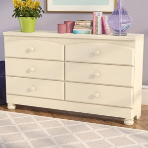 Velma 6 Drawer Double Dresser by Viv + Rae