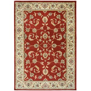Culver Red Floral Indoor/Outdoor Area Rug