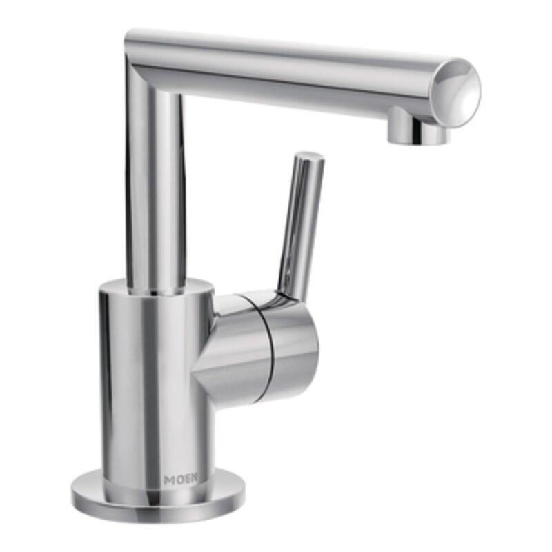 Bathroom Faucets Edmond Ok moen arris bathroom faucet with drain assembly & reviews | wayfair