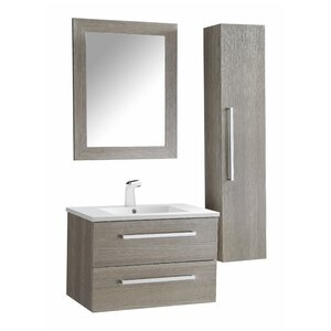 Engram 30 Single Bathroom Vanity Set with Mirror