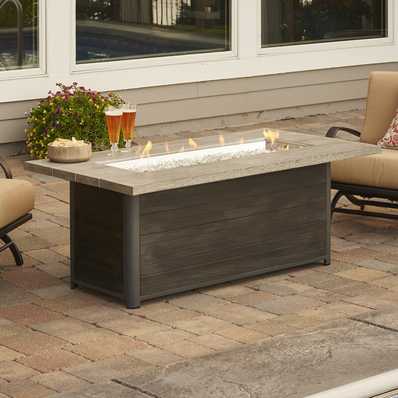 The Outdoor Greatroom Company Cedar Ridge Gas Fire Pit