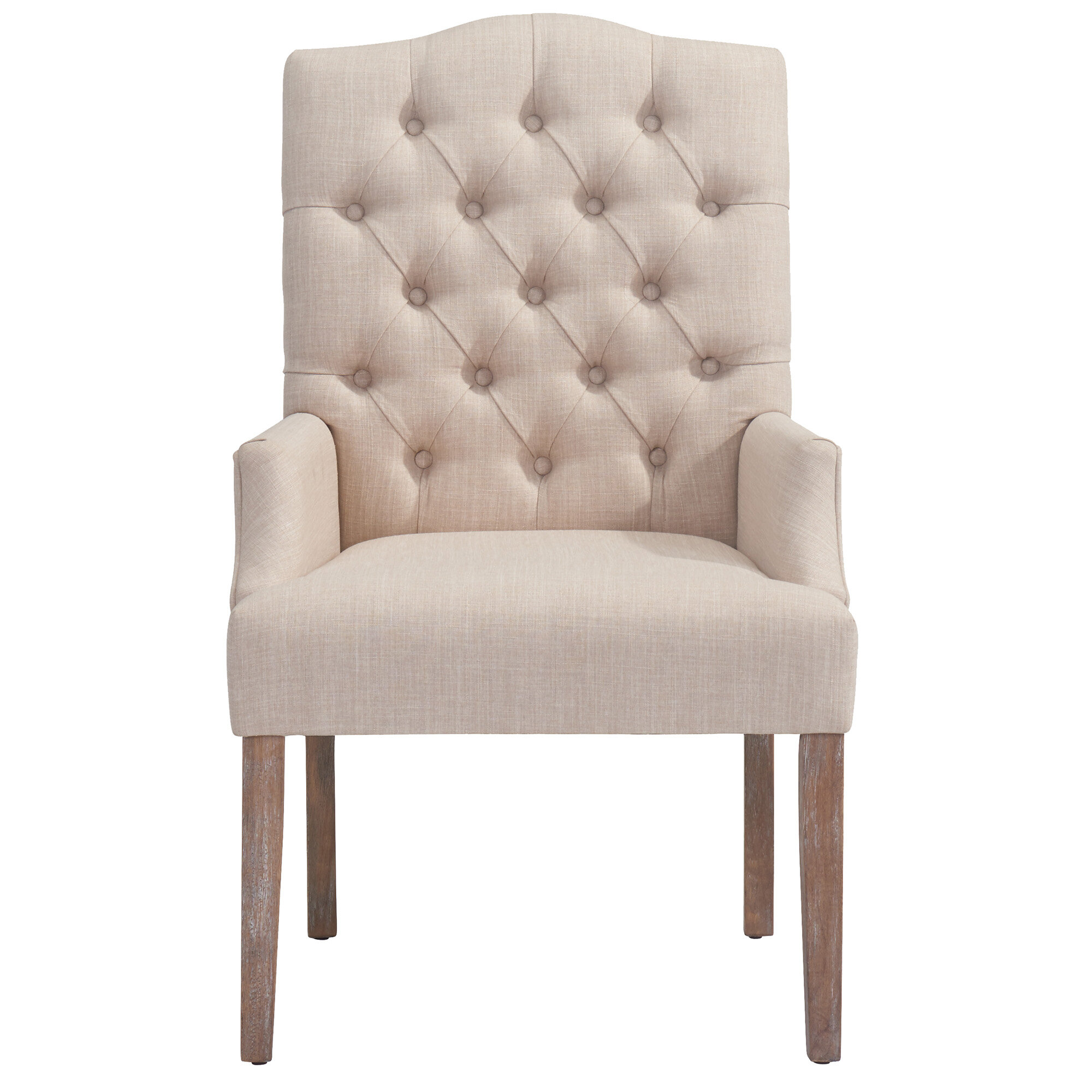 Incroyable !nspire Linen Button Tufted Armchair U0026 Reviews | Wayfair