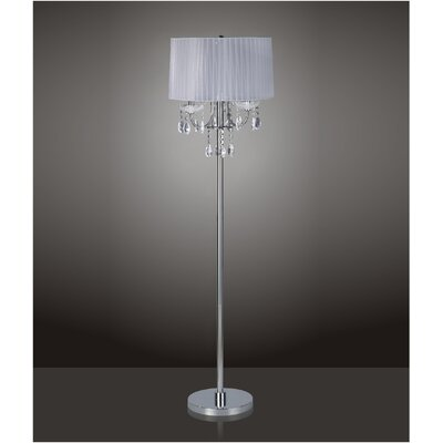 Crystal Chandelier Floor Lamp Wayfair