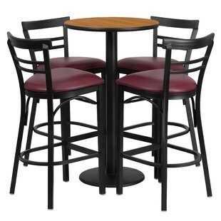 Chirag 5 Piece Pub Table Set