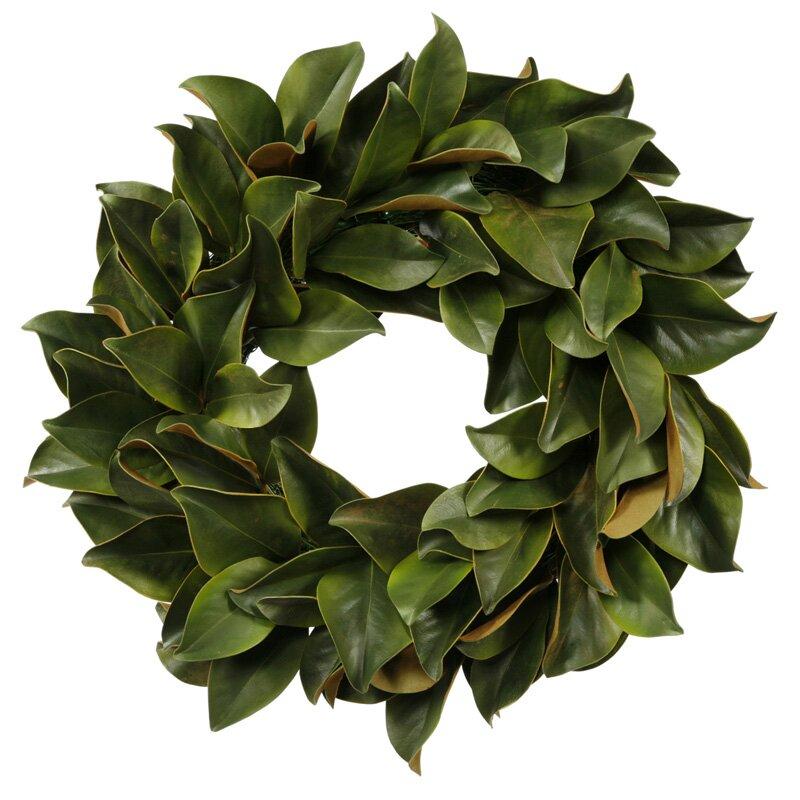 Magnolia Leaf Wreath & Reviews