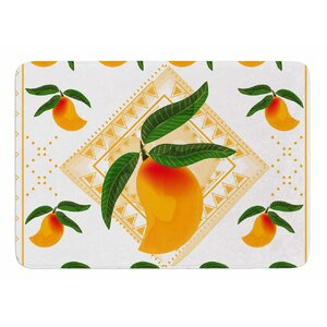 Fresh Farm Mangoes by Famenxt Bath Mat