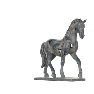 Impartial Vintage Large Horse Figurine Statue Well Made Maker Collectibles And To Have A Long Life. Animals