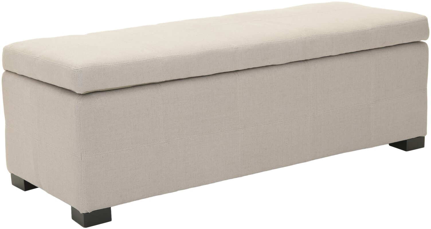 Safavieh Park Upholstered Storage Entryway Bench & Reviews