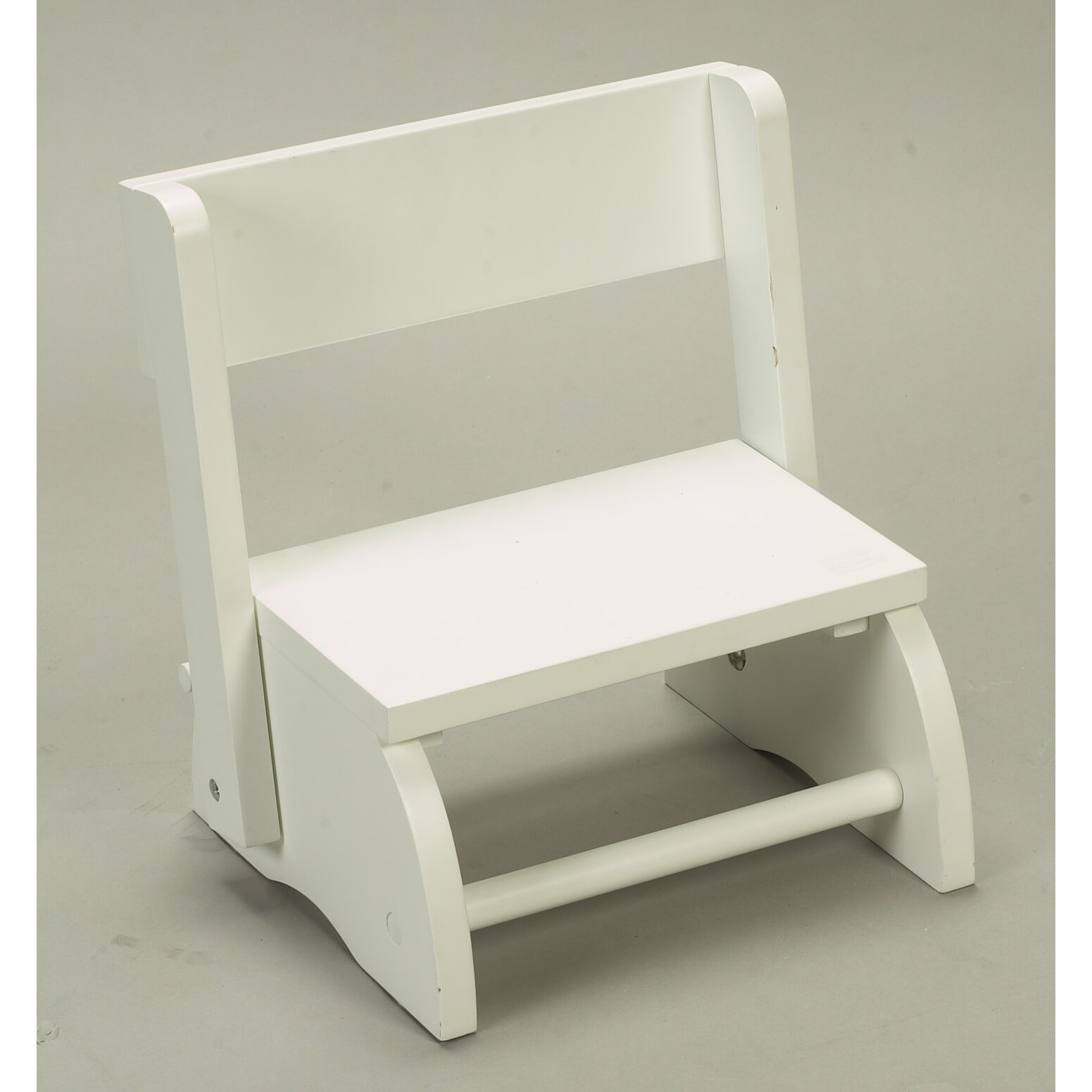 Gift Mark 1 Step Small Flip Step Stool With 70 Lb Load