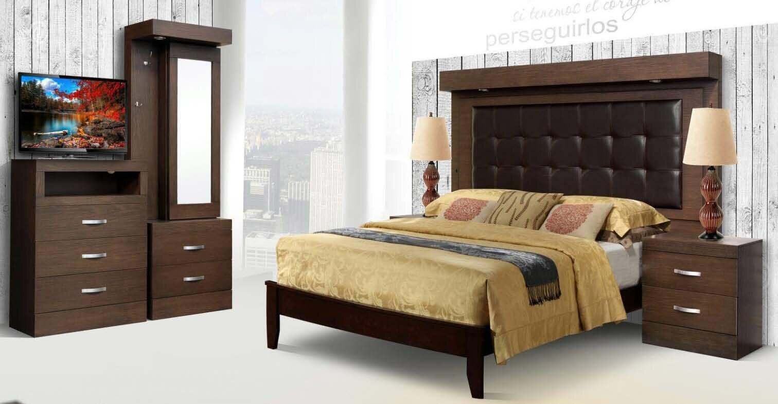 rezfurniture munich 5 piece bedroom set | wayfair