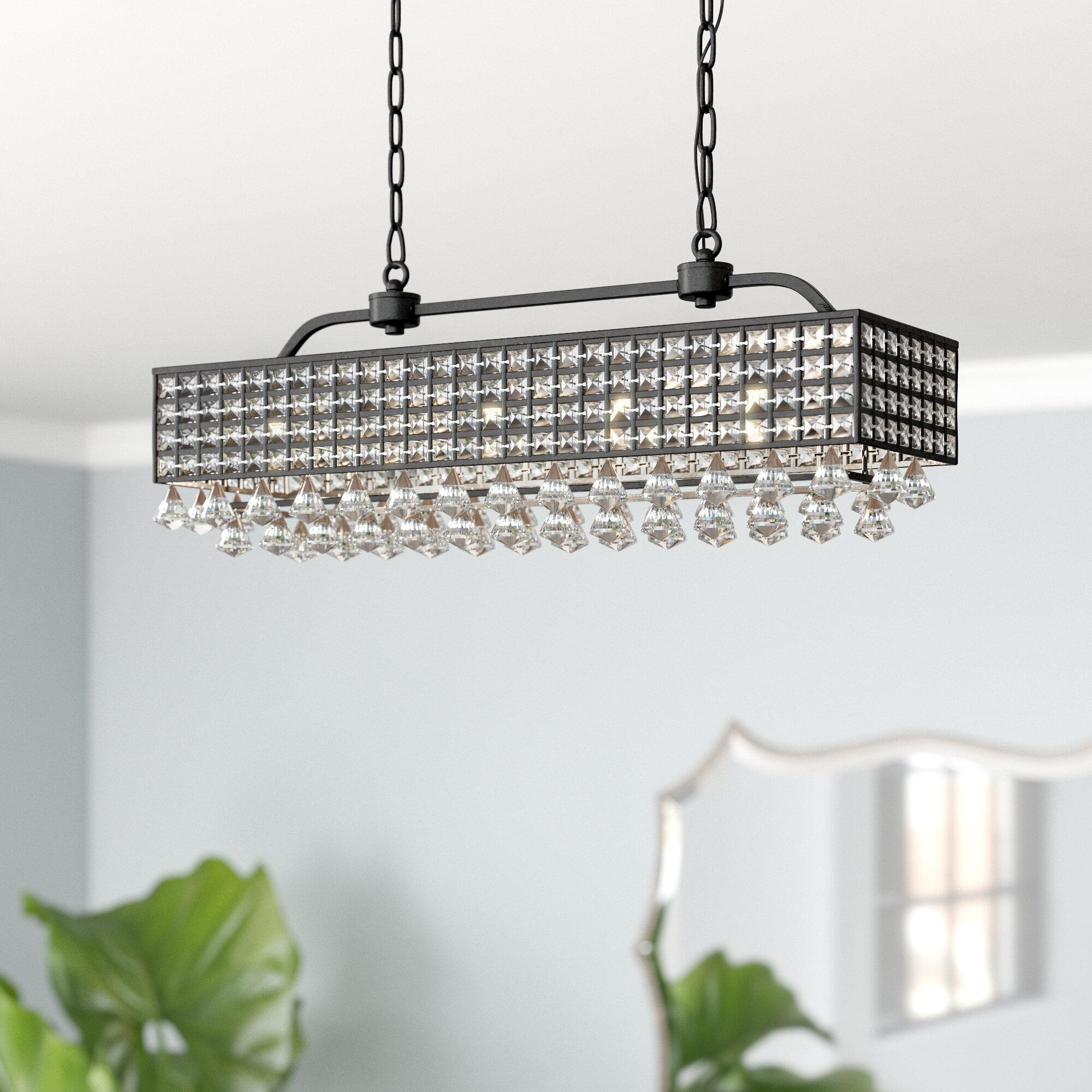 Everly quinn madilynn 5 light crystal chandelier reviews wayfair
