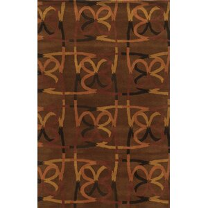 Bridgetown Hand-Tufted Espresso Area Rug
