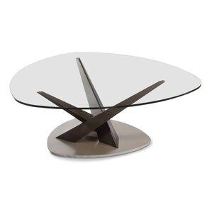 Crystal Triangular Coffee Table
