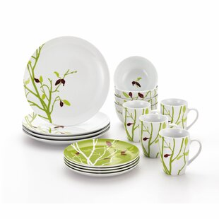 Seasons Changing 16 Piece Dinnerware Set Service for 4  sc 1 st  Wayfair & Seasonal Dinnerware | Wayfair