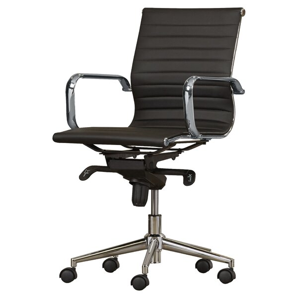 Metro Eames Style Office Chair White Metro Eames Style Office