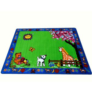 Infant Green Toys Area Rug
