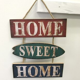 ded2bb3ccd6 Home Sweet Home Wooden Sign Wall Décor