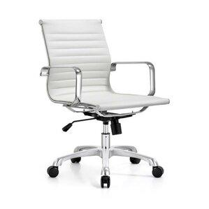 braun midback modern desk chair