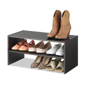 9 pair shoe rack