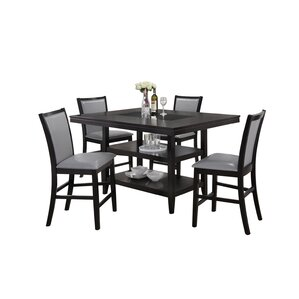 Ashton 5 Piece Counter Height Dining Set by Red Barrel Studio