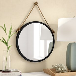 Round Hanging Mirror With Rope Wayfair