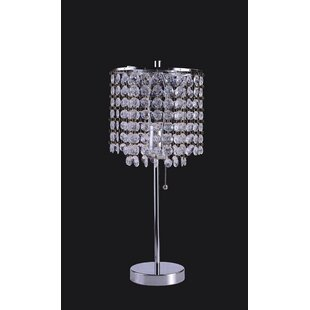 Crystal Chandelier Table Lamp Wayfair - Chandelier table lamps crystals