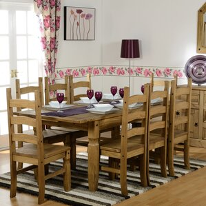 Corona Dining Set With 6 Chairs Part 42