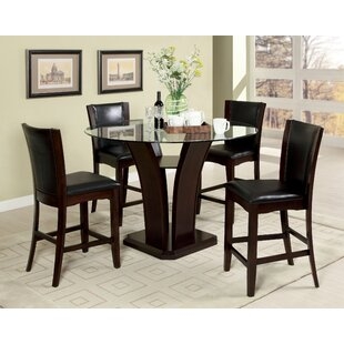 Uptown 5 Piece Pub Table Set
