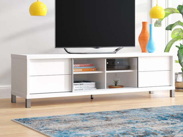 Tv Stand Designs For Corners : Modern tv stands & entertainment centers allmodern